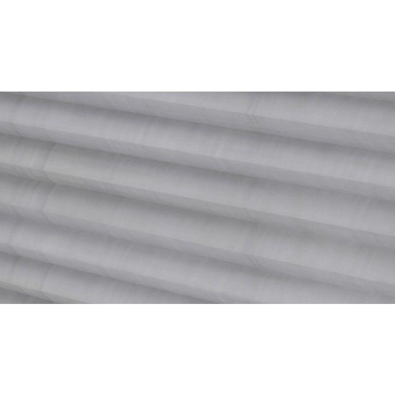 Plisségordijnen > Half-transparant > silver plate