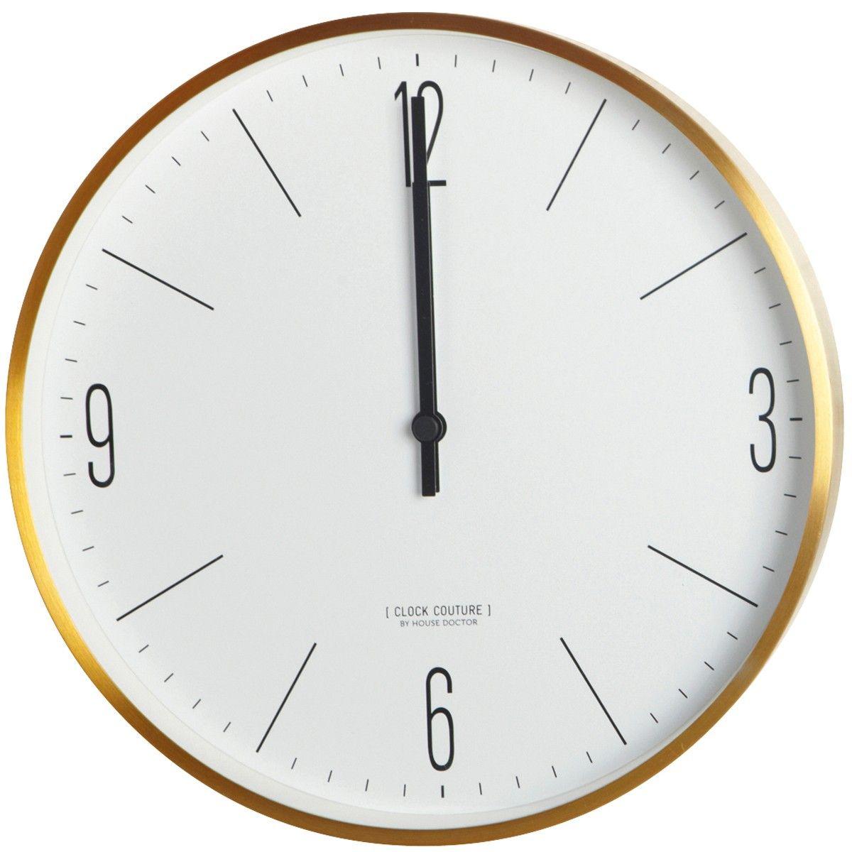 house doctor clock couture klok flinders verzendt gratis. Black Bedroom Furniture Sets. Home Design Ideas