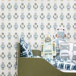 Ferm Living Robots behang