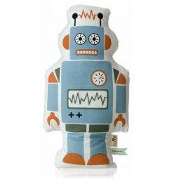 Ferm Living Mr. Large Robot kussen 50x27