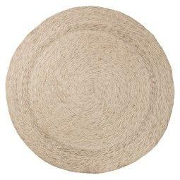 Bloomingville Braided Rug vloerkleed ivory/light grey melange 160 cm