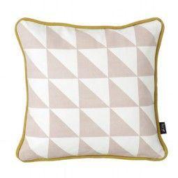 Ferm Living Little Geometry kussen roze 30x30