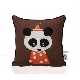Ferm Living Posey Panda kussen 30x30