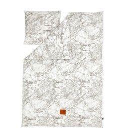 Ferm Living Marble dekbedovertrek