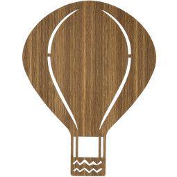 Ferm Living Air Balloon wandlamp LED eiken