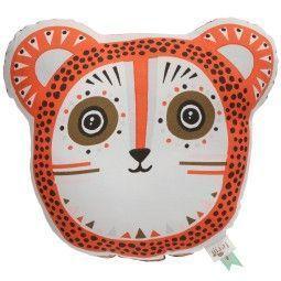 Ferm Living Billy Bear kussen oranje 36x32