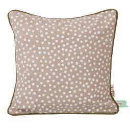 Ferm Living Dots kussen grijs 30x30