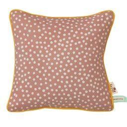 Ferm Living Dots kussen roze 30x30