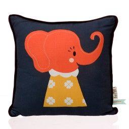 Ferm Living Elle Elephant kussen 30x30