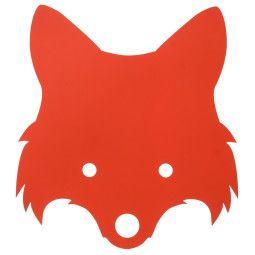 Ferm Living Fox wandlamp LED oranjerood