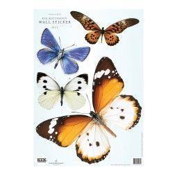 KEK Amsterdam Butterfly set 2 muursticker
