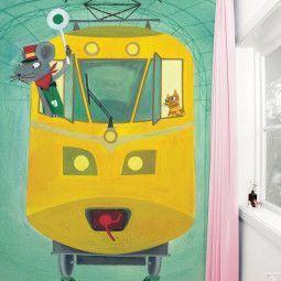 KEK Amsterdam Little Train Driver behang