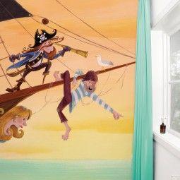 KEK Amsterdam Pirates behang