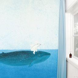 KEK Amsterdam Riding the Whale behang