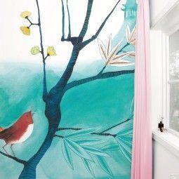 KEK Amsterdam Singing Bird behang