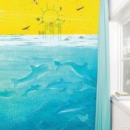 KEK Amsterdam Sunny Sea Life behang