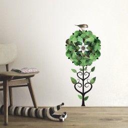 KEK Amsterdam Forest Friends Flower muursticker olijf