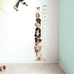 KEK Amsterdam Puppy Growth Chart muursticker