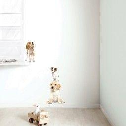 KEK Amsterdam Puppy Set 3 muursticker