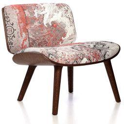 Moooi Nut fauteuil met cinnamon onderstel