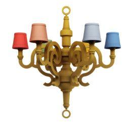 Moooi Paper Chandelier L Patchwork hanglamp