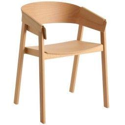 Muuto Showroommodel - Cover stoel beuken
