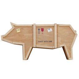 Seletti Sending Pig kast