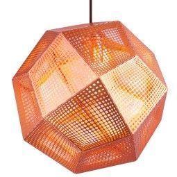 Tom Dixon Etch hanglamp koper