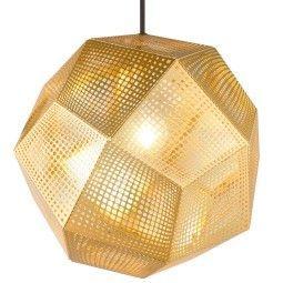 Tom Dixon Etch hanglamp messing