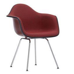 Vitra Eames DAX gestoffeerde stoel (nieuwe afmetingen)