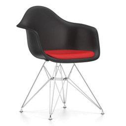 Vitra Eames DAR stoel met zitkussen (nieuwe afmetingen)