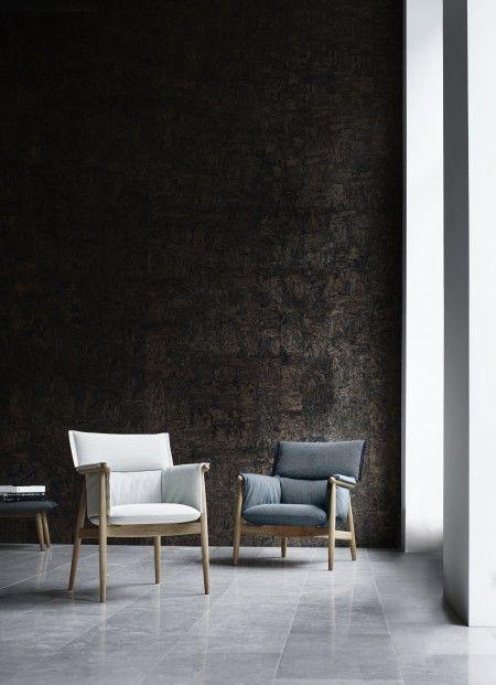 carl hansen e015 embrace fauteuil flinders verzendt gratis. Black Bedroom Furniture Sets. Home Design Ideas