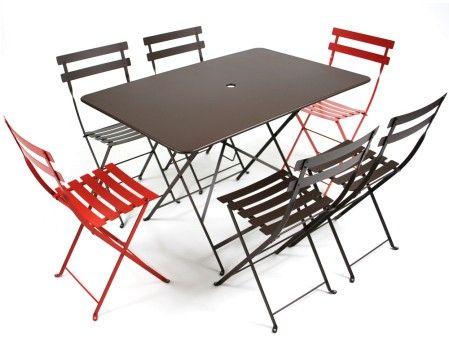 Fermob bistro tafel 117x77 flinders verzendt gratis - Tafel fermob lading ...
