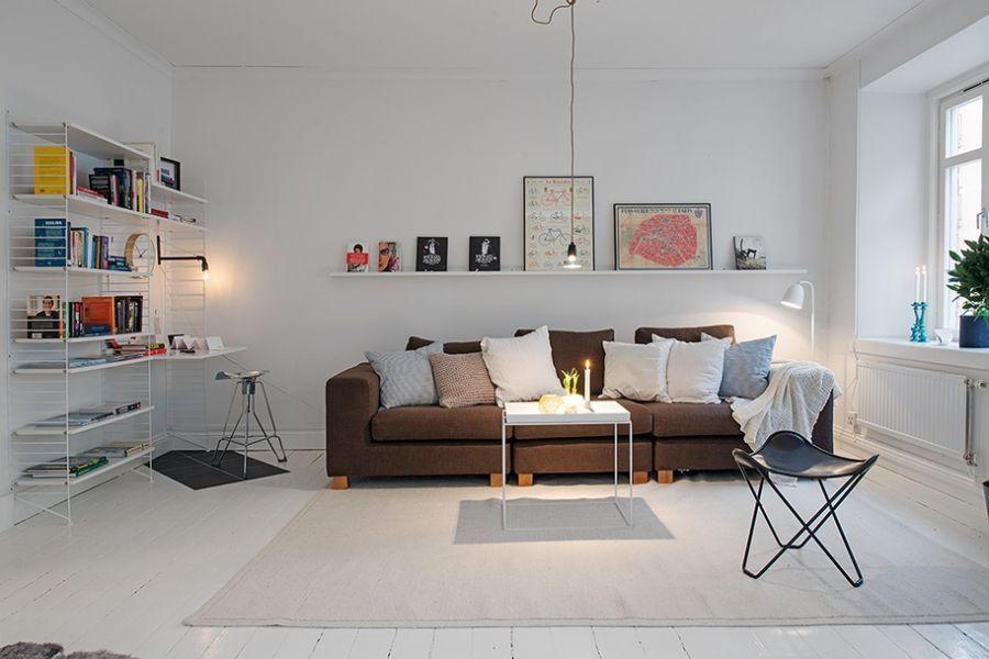Inrichting Kleine Woonkamer Open Keuken Interieur Inrichten Klein  Appartement: Appartement Met .